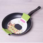 Сковорода Kamille 4248 28x4,5смс покрытием черная в Симферополе