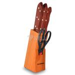 Набор ножей Kelli 01126 7пр Голденберг в Симферополе