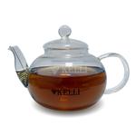 Чайник Kelli 3078 заварник стелянный 1,2 л в Симферополе