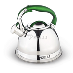 Чайник Kelli 4502 мет. 3л на газ в Симферополе