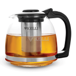 Чайник Kelli 3087 завар. стекл. 1,3 л в Симферополе
