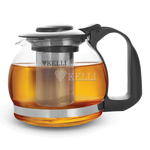 Чайник Kelli 3088 завар. стекл. 1,2 л в Симферополе