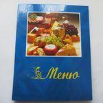Папка меню Shen простая синяя в Симферополе