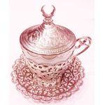 Чашка с блюдцем Acar нескафе мет+фарф серебро в Симферополе