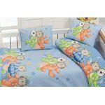Комплект постельного белья Bahar Детский Сон Голубой (100-35) в Симферополе