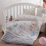Комплект постельного белья Bahar Olivia Детский Серый (100-35) в Симферополе