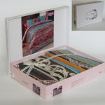 Комплект постельного белья Bahar Adriana 1,5 Ранфорс красный (160-50) в Симферополе