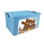 Контейнер для игрушек DDStyle 31168 Детский 80л голубой в Симферополе