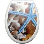 Крышка унитаза Випласт 124 с рис. Морская Звезда Гаури в Симферополе
