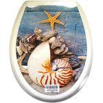 Крышка унитаза Випласт 138 с рис. Морской Гаури в Симферополе