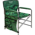 Кресло Ника 1 КС1/2 складное с тропическими листьями темное в Симферополе