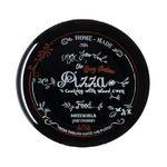 Блюдо Luminarc 1071 Friends Time Black для пиццы декор 32см в Симферополе