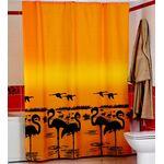 Штора для ванной Harput Miranda 14914 тканевая 1-я 180х200 жёлт. в Симферополе