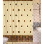 Штора для ванной Harput Miranda 09415 тканевая 1-я 180х200 беж. в Симферополе
