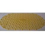Коврик Випласт в ванную Паутина экомат 66х37 лимон 15 в Симферополе