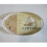 Поднос Albayrak 2240 /358 меламин овальный 25х35x3,8 кофе в Симферополе