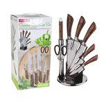 Набор ножей Kamille 5048 7шт ножницы и подставка в Симферополе