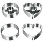 Форма Metaltex 252362 набор из 4-х форм для выпечки в Симферополе