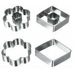 Форма Metaltex 252364 набор из 4-х форм для выпечки в Симферополе