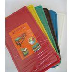 Блок разделочный Turkay Plastik 30x50x2 красный с желобом в Симферополе
