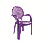 Кресло детское DDStyle 06206 Стиль фиолетовый в Симферополе