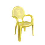 Кресло детское DDStyle 06206 Стиль желтый в Симферополе
