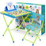 Комплект детской мебели Ника КУ2/ПА Пушистая Азбука в Симферополе