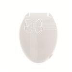 Крышка унитаза DDStyle 1018 Бантик бел. литая в Симферополе