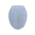 Крышка унитаза DDStyle 1018 Бантик гол. литая в Симферополе