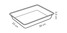 Лист Tescoma 623042 Delicia для выпечки с плоской крышшкой 36х25см в Симферополе