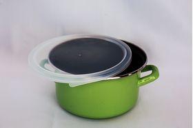 Кастрюля Caprice 004-1611 Эмаль Cook&Store 2,1л зеленая в Симферополе
