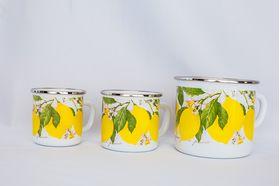 Кружка Caprice 299-0530 Эмаль 0,53л 10см Лимоны в Симферополе
