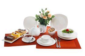 Тарелка Wilmax 991001 десертная квадратная 19,5см в Симферополе