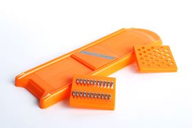 Овощерезка Либра Пласт набор 3 ножа мал оранжевый в Симферополе