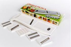 Овощерезка Либра Пласт ЛБ-140 набор 7 ножей белая в Симферополе