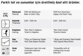 Жульенница Altin Basak Мультиметал медная 3-х слойная порционная 7х3см в Симферополе