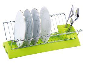 Сушилка для посуды Kamille 0769В 1-х ярусная 41,5x25,5x11,5м хром в Симферополе