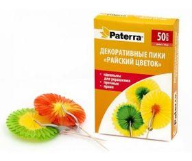 Пики Paterra 401-848 декоративные Цветы 50шт в Симферополе