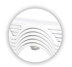 Шезлонг Siesta 076 Aqua белый в Симферополе