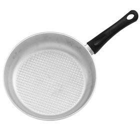 Сковорода Биол А201 пласт. ручка с крышкой рифленное дно Д200 в Симферополе