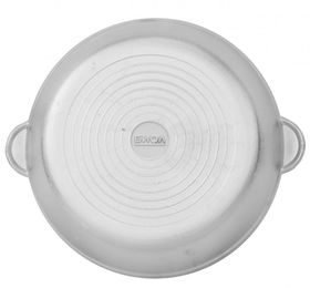 Сковорода Биол А304 без ручки с крышкой гладкое дно Д300 в Симферополе
