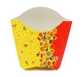 Коробка для фри одноразовая D.R.V. Tambien 34х78х116мм 50шт в Симферополе
