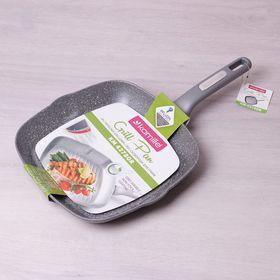 Сковорода Kamille 4278 гриль 28x28x4 с гранитным покрытием из алюм в Симферополе