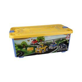Контейнер для игрушек Альтернатива М2338 75л. Тачки в Симферополе