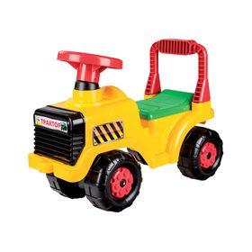 Машинка Альтернатива М4943 детская Трактор желтый в Симферополе