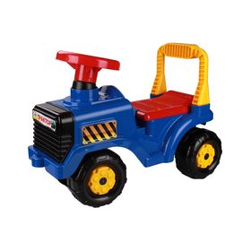Машинка Альтернатива М4942 детская Трактор синий в Симферополе