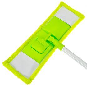 Швабра Vetta 444-301  плоская микрофибра цельная ручка в Симферополе