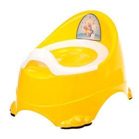 Горшок DDStyle 11103 Детский Бейби Комфорт, желтый в Симферополе