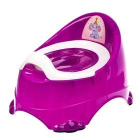 Горшок DDStyle 11103 Детский Бейби Комфорт, фиолетовый в Симферополе