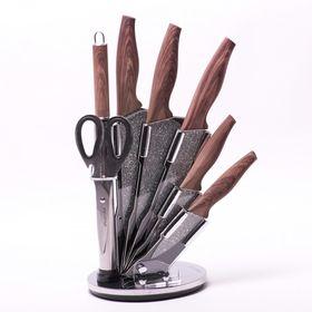 Набор ножей Kamille 5136 и ножницы на подст. 8пр. в Симферополе